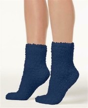 HUE Womens Super Soft COZY Socks PRUSSIAN BLUE One Size $10 - NWT - $7.56