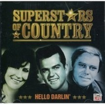 Superstars of Country: Hello Darlin' by Various Cd - $10.50