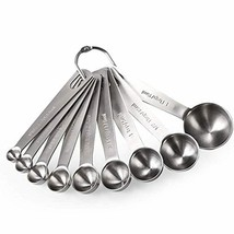 Measuring Spoons: U-Taste 18/8 Stainless Steel Measuring Spoons Set of 9... - $23.20