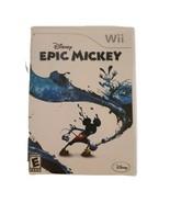 Disney Epic Mickey (Nintendo Wii, 2010) - $12.86