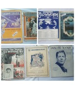 Vintage Sheet Music 1920s Lot of 7 Songs Song Books Collectible - $20.66