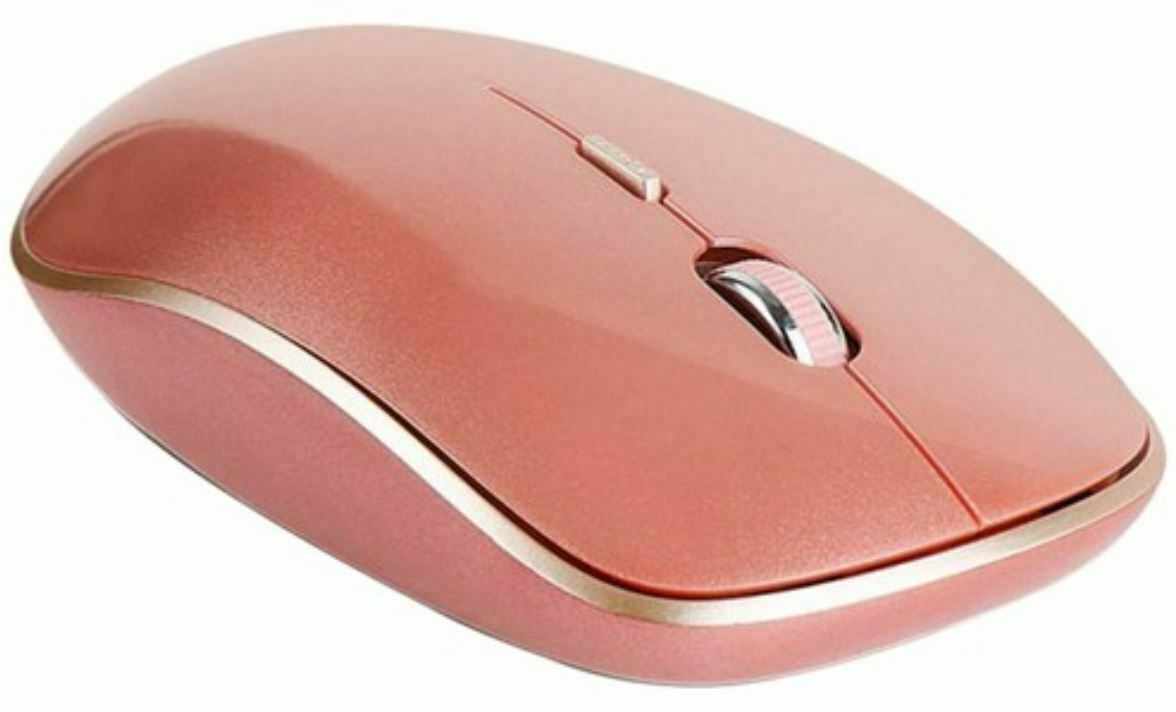 iRiver IR-WM5500R Wireless Mouse Low Noise Click 2.4Ghz DPI Control Mouse (Rose)