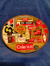 """1999 Coca Cola 6"""" wall hanging 3D Diorama art - Ice Cold,  Coke it is NO... - $33.20"""