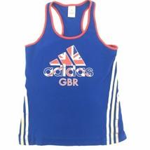 London Olympics Adidas GBR Great Britain Tank Top Womens Sz M UK 14 - $29.65