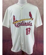 "St. Louis Cardinals SGA 5/7/16 Mike Shannon 1966 Jersey Off White Men""s XL - $24.74"