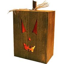 Halloween Jack o Lantern Cedar Box - $29.99