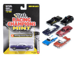 Mint Release 2017 Set C Set of 6 cars 1/64 Diecast Model Cars by Racing Champion - $67.19