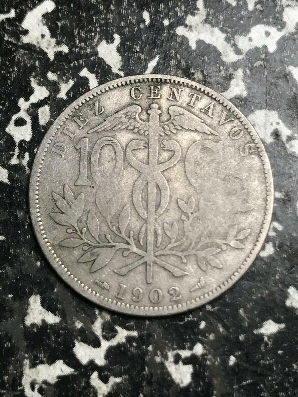 1902 Bolivia 10 Centavos Lot#L4017