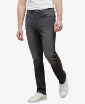 Kenneth Cole New York, Men's Straight Stretch Fit Jean , Grey WASH ,38Wx32L - $22.00