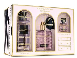 NEW Victoria's Secret SCANDALOUS 5-piece Gift set in Cute Gift Box - $90.00