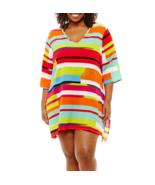 Porto Cruz Geometric Jacquard Swimsuit Cover-Up Dress Size 1X Msrp $49 - $24.99