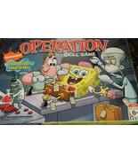 Spongebob Squarepants Operation Game Motorized  Game-Complete - $22.00