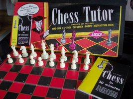 Vintage 1972 Chess Tutor Set By E.S. Lowe - $49.45
