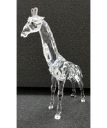 "SWAROVSKI CRYSTAL BABY GIRAFFE  APPROXIMATELY 4"" X 5-1/2"" x 1-1 /2"" ORIG... - $153.45"