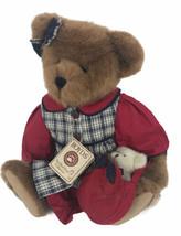 "Boyds The Head Bean Collection Annie B Appleton 16"" Plush Bear With Tags - $59.39"