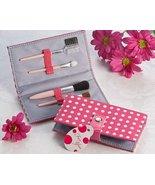 "Artisano Designs ""Pretty in Pink"" Polka Dot Makeup Brush Kit - $5.82"