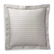 """$145 RALPH LAUREN Home Reed Vintage Silver Quilted Euro Pillow Sham 26"""" ... - $99.97"""