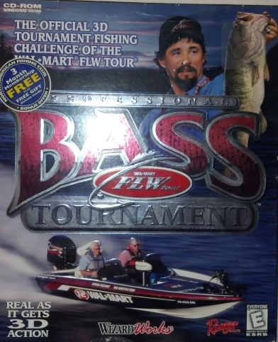 Professional Bass Tournament - PC Software CD-ROM for Windows 95, 98 or Higher. - $5.33