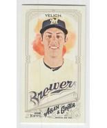 2018 Topps Allen & Ginter Mini #75 Christian Yelich -Milwaukee Brewers-N... - $2.97
