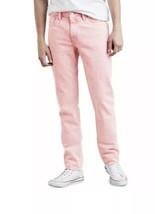 Levi's 511 Slim Stonewashed Denim Pink Jeans Tag 32x34 Nwt - $26.60