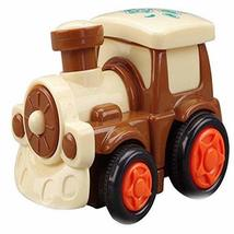 PANDA SUPERSTORE Lovely Train Car Wind-up Toy for Baby/Toddler/Kids (Color Rando