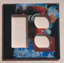 Have a Coke Coca-Cola Light Switch Outlet wall Cover Plate Home Decor image 5