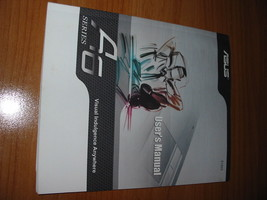 USER'S MANUAL FOR ASUS LAPTOP A6 SERIES - A6000 - A6K  (E1823) - $11.72