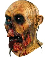 Deluxe Men's Adult Horror Walking Dead ZOMBIE TONGUE Halloween Mask New  - £50.58 GBP