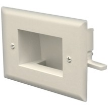 DataComm Electronics 45-0008-IV Easy-Mount Recessed Low-Voltage Cable Plate (Ivo - $21.92