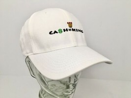 Cash Is King Hat Cap Embroidered Margolis Becker White Flexfit L-XL Yupoong - $16.88