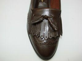 EUC Etienne Aigner Women's Tassel Slip On Pinch Loafers Dress 8 1/2M Brown image 4