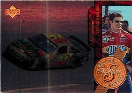 1997 UPPER DECK ROAD TO THE CUP MILLION DOLLAR MEMOIRS CARD MM8 JEFF GORDON - $16.15