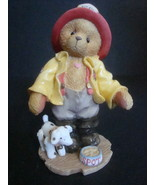 Enesco Cherished Teddies Kurtis D. Claw Members Only Figurine, No Box, N... - $3.25