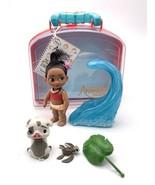 Disney Animators' Collection 5 Inch Moana Mini Doll Play Set Complete - $19.80