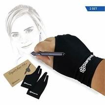 Digital Artist Glove for Graphic Drawing Tablet, Two Finger Sketch Man, ... - $16.70