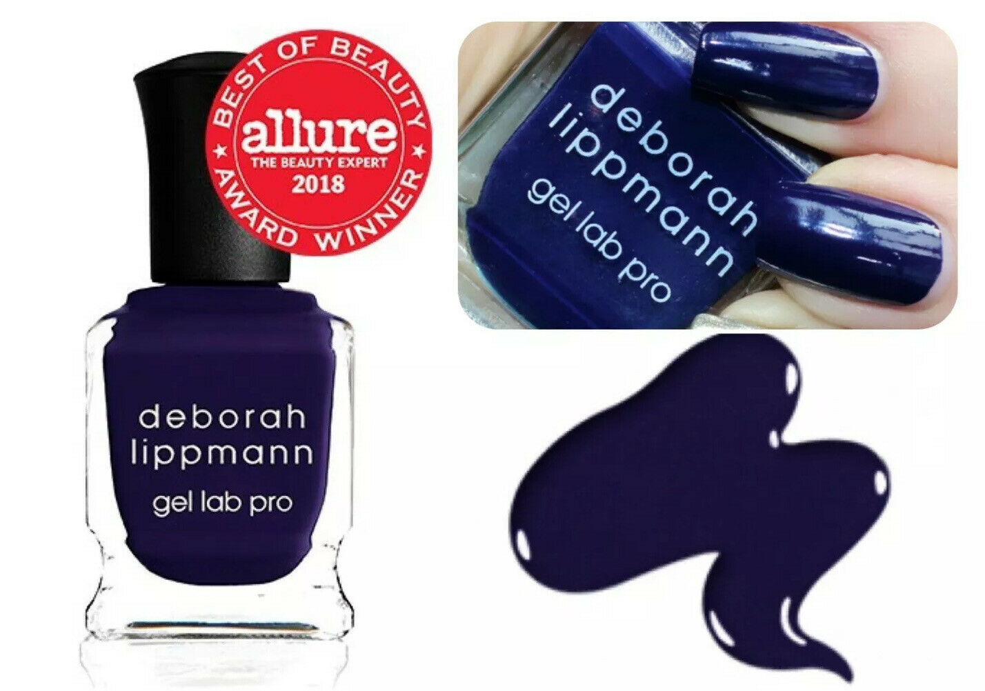 Primary image for Deborah Lippmann Gel Lab Pro Nail Polish After Midnight, Creme Finish