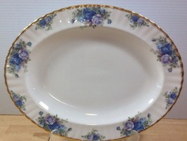 "Royal Albert Moonlight Rose 13"" Oval Serving Platter Bone China England ... - $149.59"