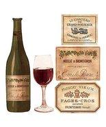 Wallies 12188 Wine Tasting Wallpaper Cutout - £10.61 GBP