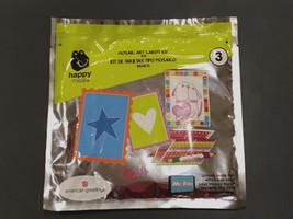 McDonald's Mosaic Art Cards Kit American Greetings Stencil Happy Meal Toy #3 New - $13.31
