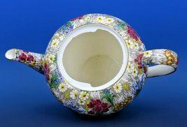 Vintage Royal Winton Marguerite Floral Chintz Teapot image 3
