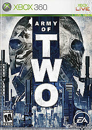 Primary image for Pre-Owned ~ Army of Two (Microsoft Xbox 360, 2008) ~ CIB