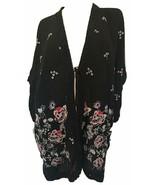Johnny Was Women'S Elijah Kimono, Black, Large - $441.31