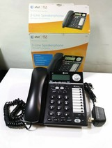 At&T 2 Line Speaker Phone 993 Call ID/Waiting Conference Speed Dial Home Office - $26.63