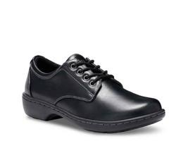 Eastland Womens Pandora Oxfords Size 6.5M Black Leather Lace Up - $39.59