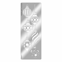 Dreamweaver Metal Stencil Christmas Ornaments #LL468 image 2