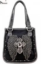 Montana West Spiritual Collection Shoulder Handbag- Wings & Cross-Very Sexy!! - $45.80