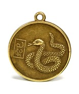 """YEAR of the SNAKE GOOD LUCK CHARM 1"""" Chinese Zodiac Horoscope Feng Shui ... - $6.95"""