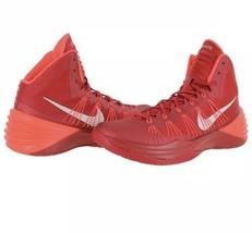 Nike Hyperdunk Mens Orange High Tops Size 10.5 2013 584433-800 Basketball shoes - $79.19
