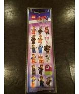 Lego The Lego Movie 2 Sticker Pack (4 pieces) Emmet Wyldstyle Batman - $4.89