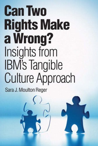 Primary image for Can Two Rights Make a Wrong?: Insights from IBM's Tangible Culture Approach Rege